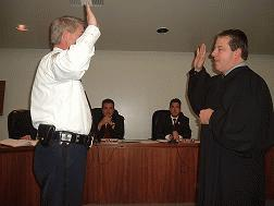 Mahoney sworn as Deputy Chief